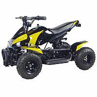 Детский квадроцикл HB EATV 800-2-6,800W, фара,30 км.ч., черно-желтый