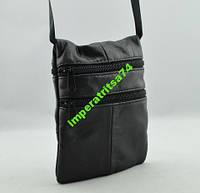 Мягкая кожаная сумка на все случаи жизни.