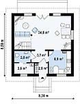 Стоимость строительства коробки Дома в Харькове. Проект Дома № 5,1, фото 2