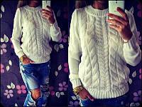 Молодежный женский свитер 2554