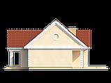 Проект Дома. Одноэтажный Дом на Три спальни в ХАРЬКОВЕ.№ 5,3, фото 7