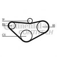 Contitech Ремень ГРМ 70X HONDA ACCORD 2.0I16V-2.2I