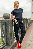 Модный женский комбинезон Талисман с брюками из костюмной ткани 44-50 размера