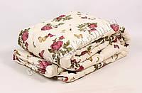 Полуторное одеяло бязь/шерсть 012