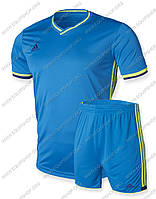 Футбольная форма Adidas Condivo16 сине-салатовая
