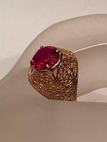 Колечко золотое с рубином   583 пробы СССР