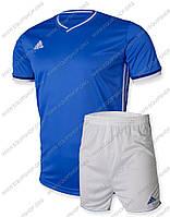 Футбольная форма Adidas Condivo16 сине-белая
