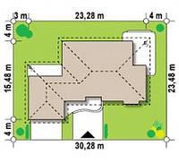 Проект современного европейского дома № 5,5 , фото 1