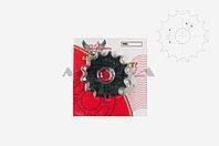 "Звезда трансмиссии (передняя)   на мотоцикл МИНСК   428-13T   ""DGH"""