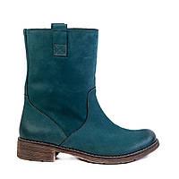 Женские ботинки Tuto 45-102 зел. нубук