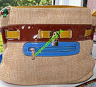 Креативная сумка под соломку.