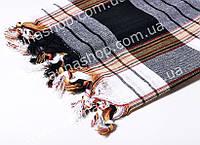 Пляжный коврик, пештемаль 172*78см. Черный