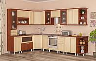 Терра плюс Мебель-Сервис кухня модульная 2100х2900 мм
