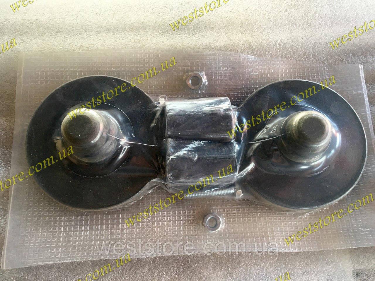 Комплект удлинителей подвески проставки Lanos Sens Ланос,Сенс Задней (2 резинки и 2 кубика)