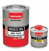 PROTECT 300 - АКРИЛОВЫЙ ГРУНТ 4+1 (MS) + отвердитель Н5220  (1л+0.25л) БЕЛЫЙ