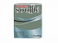 Новинка! Полимерная глина Sculpey Souffle Скалпи Суфле, песто (оливковый) 6360