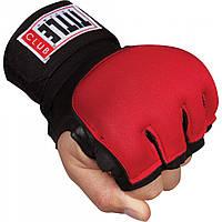 Бинты-перчатки TITLE Boxing Club Hybrid Gel Gloves Wraps