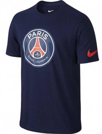 Футболка Nike Paris Saint Germain Crest 742175-410 (Оригинал), фото 2