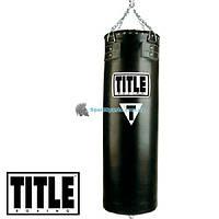 Боксерский мешок TITLE Boxing Leather Heavy Bags