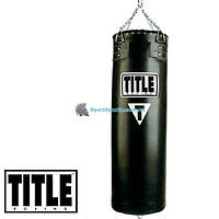 Боксерский мешок TITLE Boxing Synthetic Leather Heavy Bags