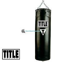 Боксерский пустой мешок из синтетической кожи TITLE Boxing