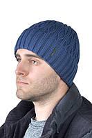 Зимняя мужская шапка с отворотом ShaDo №150