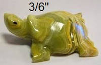 Фигурка Черепаха  из оникса 15см
