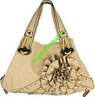 Большая сумка, три отделения, цветок от Valentino!