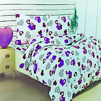 Двухспальный комплект постельного белья бязь хлопок 100%