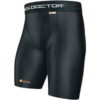 Компрессионные шорты SHOCK DOCTOR Core Compression Cup Pocket