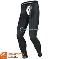 Компрессионные штаны с ракушкой SHOCK DOCTOR Core Long Compres