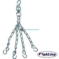 Крепления-цепи для мешков FIGHTING Sports Heavy Bag Chain&Swivel
