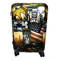 Комплект чемоданов пластик 2 шт 999_013