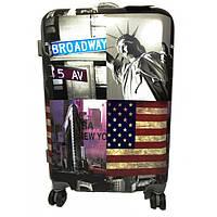 Комплект чемоданов пластик 2 шт 999_014