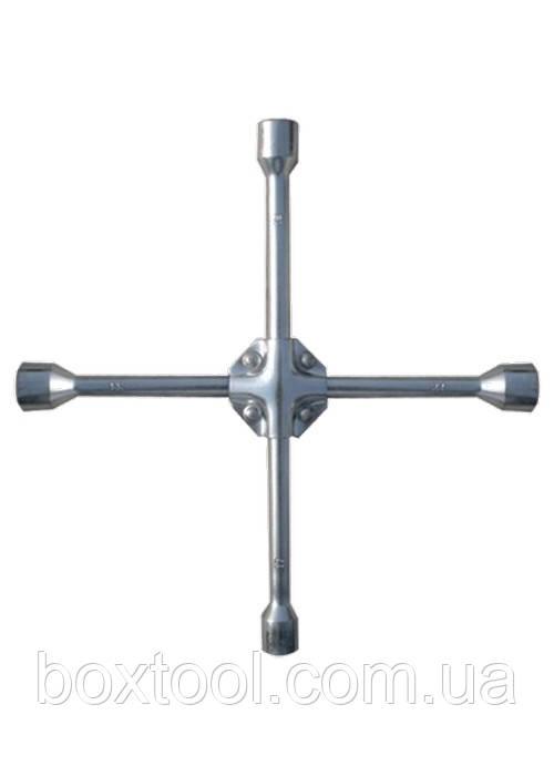 Ключ крест баллонный усиленный 17х19х22 мм Matrix 14244