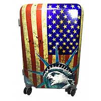 Комплект чемоданов пластик 2 шт 999_016