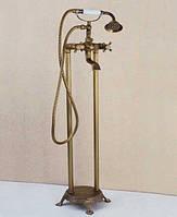Смеситель для ванной напольный Art Design Y03  Deco Бронза