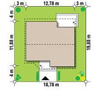Строительство Кирпичного Дома по проекту № 5,10, фото 1