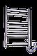 Полотенцесушитель Лесенка-7  нержавейка, фото 5