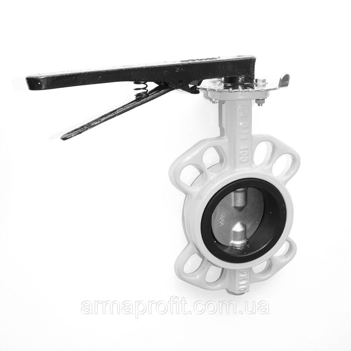 Задвижка поворотная Баттерфляй для газа RBV-16-40(G) Ду125 Ру16 (P204)