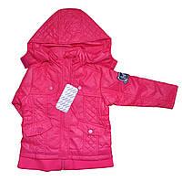 Куртка детская с капюшеном для девочек. размеры 2-6 лет
