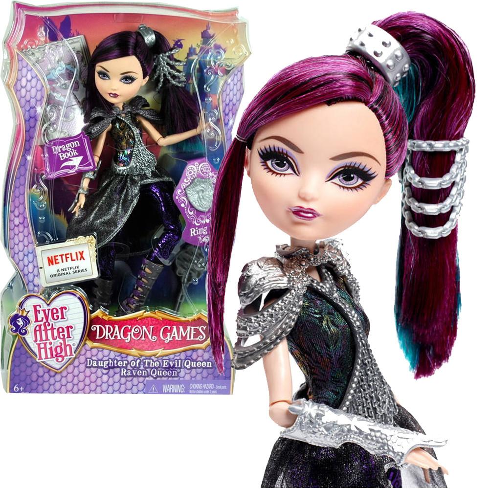 Кукла Ever After high Raven Queen Dragon Games Рейвен Квин Игры Драконов