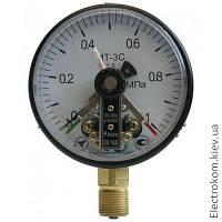 Манометр электроконтактный МТ-3С, 0...100 кПа, 1,5