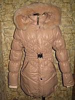 """Зимнее пальто для девочек """"Скарлет"""""""