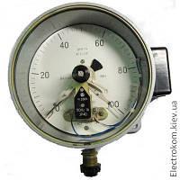 Манометр электроконтактный ЭКМ-2У, 0...1600 кгс/см2, 1,5
