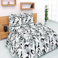 Полуторный комплект постельного белья бязь хлопок 100%