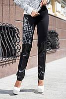 Женские молодежные леггинсы 1854 Seventeen черные 42-46 размеры