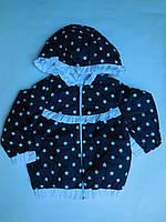 Куртка малыши для девочек Звезды.