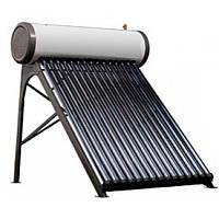 Сезонная гелиосистема на 200 литров горячей воды в день с напорным баком