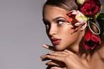 Воздействие цветов на нашу кожу.